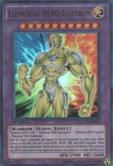Elemental HERO Electrum - LCGX-EN052 - Ultra Rare - 1st Edition