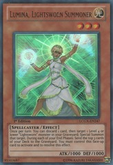 Lumina, Lightsworn Summoner - LCGX-EN247 - Ultra Rare - 1st Edition