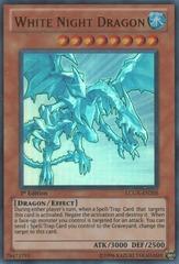 White Night Dragon - LCGX-EN205 - Ultra Rare - 1st Edition