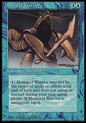 Homarid Warrior (Shuler) on Channel Fireball