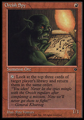 Orcish Spy (Venters) on Channel Fireball