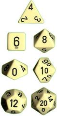 Ivory/Black Opaque d4 - PQ0400