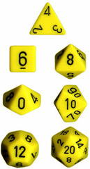34mm Opaque d20 Yellow / Black - XQ2002
