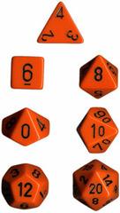 Orange/Black Opaque d8 - PQ0803