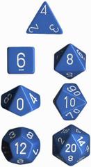 Lt. Blue/White Opaque d8 - PQ0816