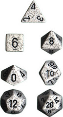 34mm Speckled d20 Arctic Camo - XS2087