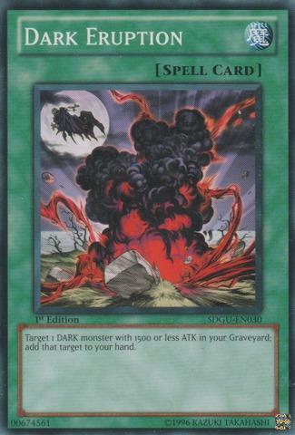 Dark Eruption - SDGU-EN030 - Common - 1st Edition
