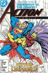 Action Comics 587 Cityscape!