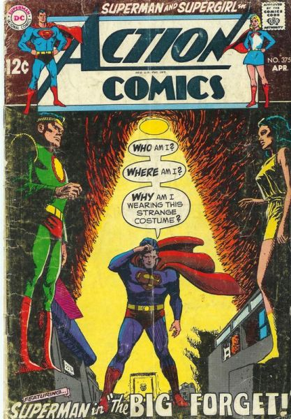 Action Comics 375 The Big Forget