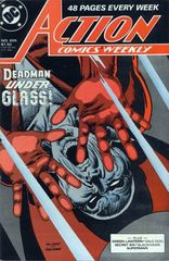 Action Comics 605 Golgotha / Goes To Hell / Moral Stand / Aftermath / If That Mockingbird Dont Sing / Enter... Red Dragon!
