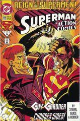 Action Comics 688 Reign Of The Supermen An Eye For An Eye