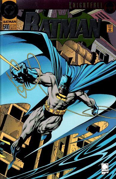Batman 500 B Knightfall Part 19 / Dark Angel Part 1: The Fall