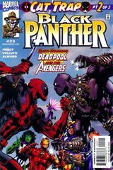 Black Panther Vol. 3 23 More Of That Business With The Avengers