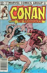 Conan The Barbarian Vol. 1 142 The Maze The Man The Monster