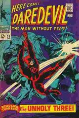 Daredevil Vol. 1 39 The Exterminator And The Super Powered Unholy Three