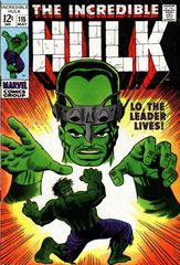 The Incredible Hulk Vol. 1 115 Lo The Leader Lives