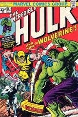 The Incredible Hulk Vol. 1 181 A And Now...The Wolverine!