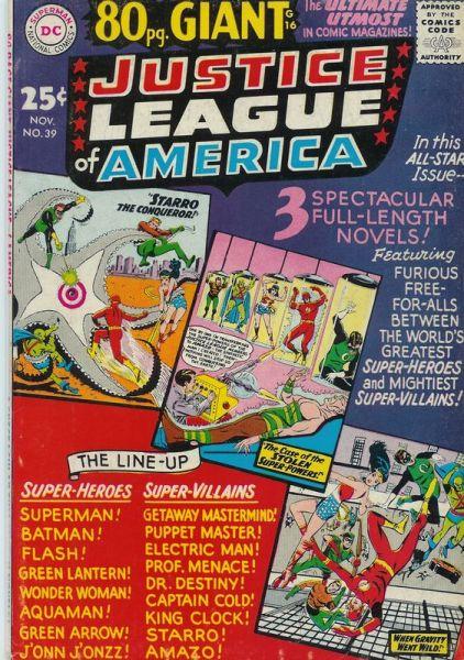 Justice League Of America Vol. 1 39