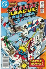 Justice League Of America Vol. 1 204 The Cut Of The Cards!