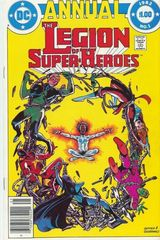 Legion Of Super Heroes Vol. 2 Annual 1 Monsters In A Little Girls Mind