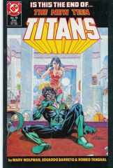 The New Teen Titans Vol. 2 19 Breaking Up Is Hard To Do