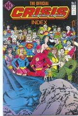 Official Crisis On Infinite Earths Index 1
