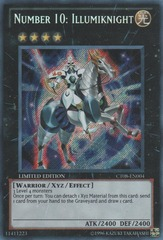 Number 10: Illumiknight - CT08-EN004 - Secret Rare - Limited Edition