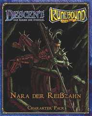 Descent / Runebound / Runewars Figure: Nara The Fang