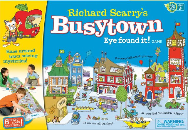 Richard Scarrys Busytown: Eye found it! Game