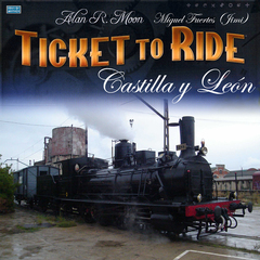 Castilla y León (fan expansion for Ticket to Ride)