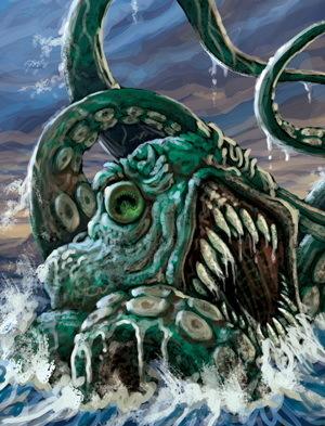 Descent: Sea of Blood Lieutenants - The Kraken