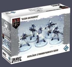 Dust Tactics: Aufklärer Sturmgrenadieren Squad -