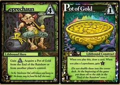 Ascension: Chronicle of the Godslayer - Leprechaun and Pot of Gold Promos