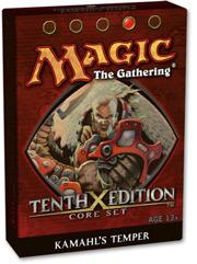 MTG 10th Edition Theme Deck: Kamahls Temper