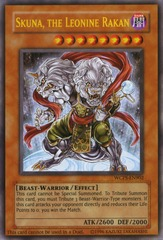 Skuna, the Leonine Rakan - WCPS-EN902 - Ultra Rare - Limited Edition