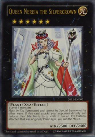 Queen Nereia the Silvercrown - 2011-EN002 - Ultra Rare