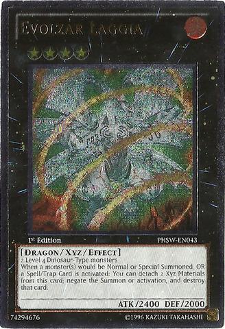 Evolzar Laggia - PHSW-EN043 - Ultimate Rare - 1st Edition