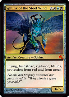Sphinx of the Steel Wind - Foil