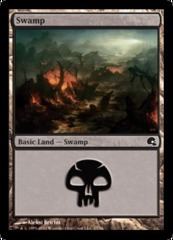 Swamp (27) - Foil on Channel Fireball