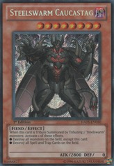 Steelswarm Caucastag - HA05-EN050 - Secret Rare - 1st Edition