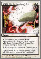 Erase (Not the Urza's Legacy One) - Foil