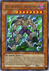 Destiny Hero - Dreadmaster - DP05-EN004 - Rare - Unlimited Edition
