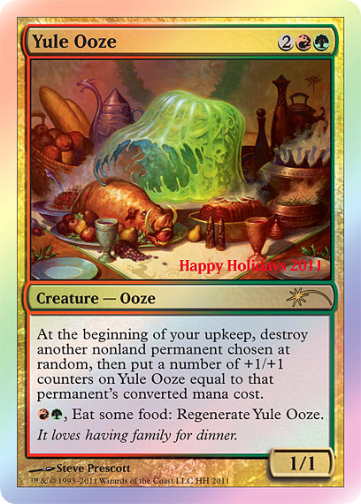 Yule Ooze - Holiday Promo