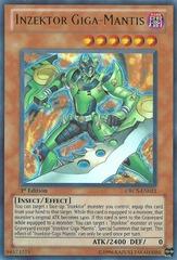 Inzektor Giga-Mantis - ORCS-EN021 - Ultra Rare - 1st Edition