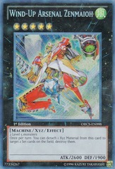 Wind-Up Arsenal Zenmaioh - ORCS-EN098 - Secret Rare - 1st Edition