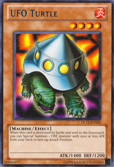UFO Turtle - Blue - DL12-EN002 - Rare - Unlimited Edition