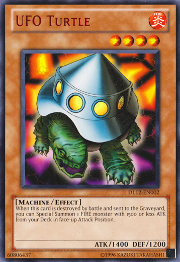 UFO Turtle - Red - DL12-EN002 - Rare - Unlimited Edition