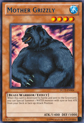 Mother Grizzly - Blue - DL12-EN004 - Rare - Unlimited Edition