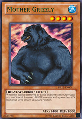 Mother Grizzly - Green - DL12-EN004 - Rare - Unlimited Edition