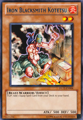 Iron Blacksmith Kotetsu - Blue - DL12-EN006 - Rare - Promo Edition on Channel Fireball